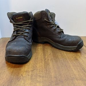 Dr Martens Mens Industrial Composit Toe Brown Boot